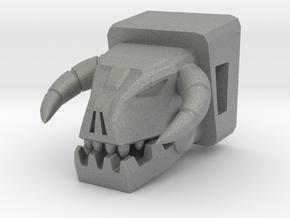 Horri-Bull Head for Shuffler/Ramhorn in Gray PA12