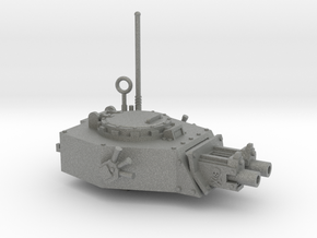 28mm APC turret x2 gyroject guns  in Gray Professional Plastic