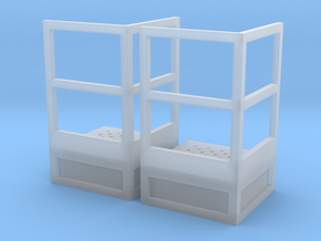 1/64 Stair Platform for 10' Tower 2pc in Smooth Fine Detail Plastic