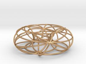pendant toroidal geodesics in Natural Bronze