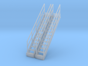 1/64 Stairs for 10' Tower 2pc in Smooth Fine Detail Plastic