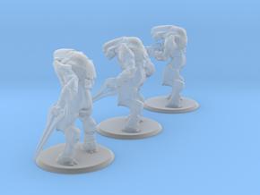 Elite Miniatures (3 Pack) in Smooth Fine Detail Plastic