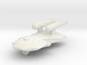 3788 Scale Federation Light Cruiser WEM in White Natural Versatile Plastic
