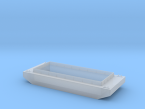 HO Scale Barge in Smooth Fine Detail Plastic