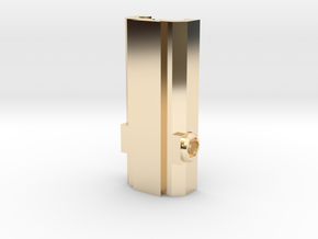 Picatinny/Weaver to Dovetail Converter in 14K Yellow Gold