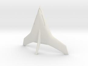 (1:144) Burt Rutan Stealthy Tailsitter Concept in White Natural Versatile Plastic