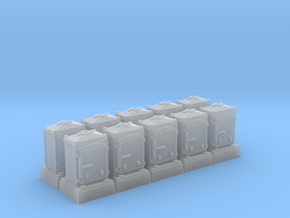 US&S Relay Box (N - 1:160) 10X in Smoothest Fine Detail Plastic