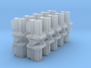 Safetran Signal Post Base (N - 1:160) 20X in Smoothest Fine Detail Plastic