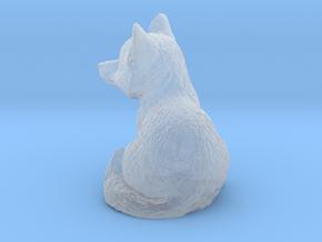 O Scale Cute Fox in Smooth Fine Detail Plastic