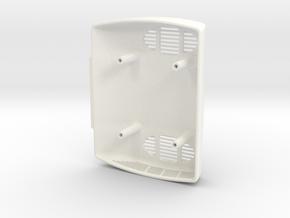 Standklima ohne Branding im Maßstab 1zu8 in White Processed Versatile Plastic