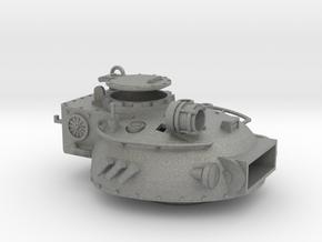 28mm Rauber tank turret DIY in Gray PA12