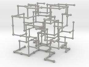 Haugland's grid subgraph no. 4 in Aluminum