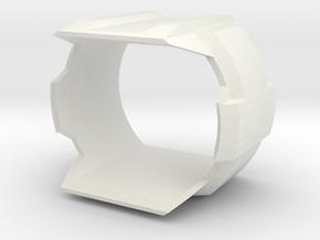 Gitup F1 Lens Hood in White Natural Versatile Plastic