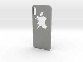 cases iphone x logo apple in Gray Professional Plastic: Medium
