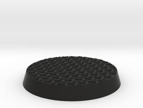 32mm Double Diamond Base for Citadel Miniatures in Black Premium Versatile Plastic