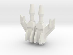 LittleBigMan - Guns in White Natural Versatile Plastic