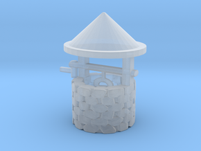 O Scale Wishing Well in Smooth Fine Detail Plastic