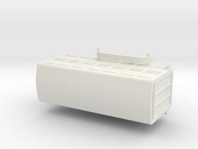 1044 Tieranhänger HO 1:87 in White Natural Versatile Plastic: 1:87 - HO