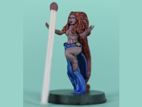 sorceress in Smooth Fine Detail Plastic
