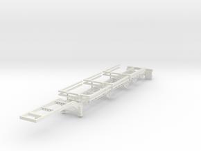 000432 Wood logger in White Natural Versatile Plastic: 1:87 - HO