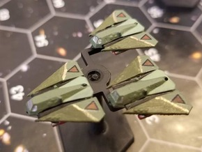 Omni Scale Gorn G-30 Wyvern Heavy Assault Fighters in Smooth Fine Detail Plastic