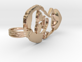 Joke Love in 14k Rose Gold