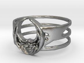 newgolhdring in Natural Silver