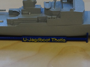 Thetis Class, Display Stand (1:350, static model) in Smooth Fine Detail Plastic