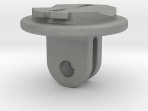 Garmin Varia Headlight To GoPro Adapter in Gray PA12