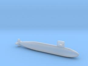 Harushio-class submarine, Full Hull, 1/1800 in Smooth Fine Detail Plastic