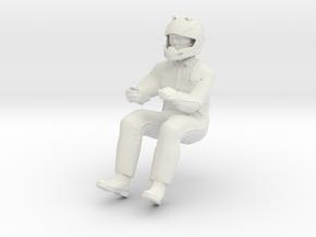 Printle V Homme 1718 - 1/24 - wob in White Natural Versatile Plastic