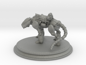 Mech Tiger in Gray PA12: 6mm