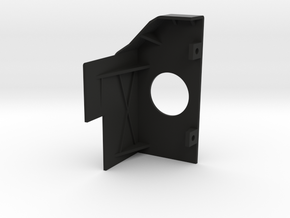 RAM 1500 Rear Power Plug Bracket - Right in Black Natural Versatile Plastic