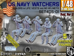 1/48 USN Watchers Set405-01 in Smooth Fine Detail Plastic