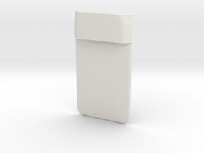 FT857D Mic mount in White Natural Versatile Plastic