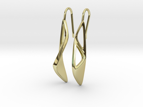 sWINGS OC Earrings in 18k Gold Plated Brass