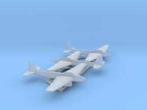 (1:500) (x3) Kugisho Tenga Jet Bomber  in Smooth Fine Detail Plastic