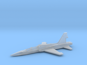 T38-144-1-airframe in Smooth Fine Detail Plastic