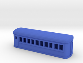 Pullman Heavyweight Chair Car in Blue Processed Versatile Plastic