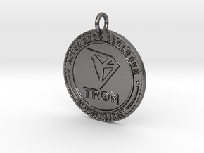 TRON Pendant in Polished Nickel Steel