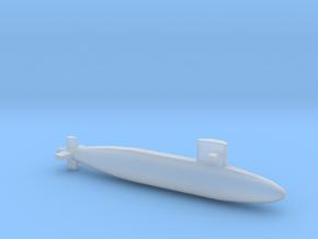 Yūshio-class submarine, Full Hull, 1/1800 in Smooth Fine Detail Plastic