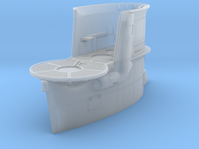 1/144 DKM Uboot VIIB Conning Tower in Smooth Fine Detail Plastic