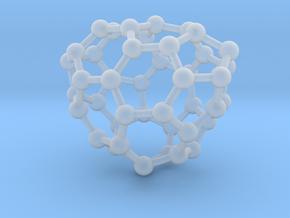 0654 Fullerene c44-26 c1 in Smooth Fine Detail Plastic