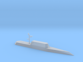 1/700 Scale USS Sea Jet AESD-1 in Smooth Fine Detail Plastic
