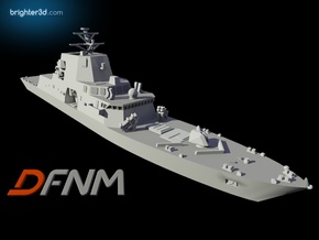 Freedom FFG(X) in White Natural Versatile Plastic: 1:700