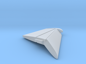 F8-144scale-13-LeftWingTip-FlapsDown in Smooth Fine Detail Plastic