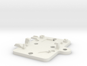 S99-S04: bay lid for Slot.it 'type C' chip in White Natural Versatile Plastic