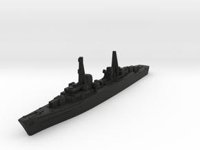 Spahkreuzer (Germany Z Plan) in Black Premium Versatile Plastic