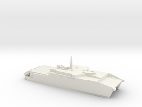 1/700 Scale Joint High Speed Vessel (JHSV) in White Natural Versatile Plastic