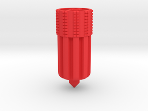 Chang Jiang 750 Hollow Clutch Alignment Tool in Red Processed Versatile Plastic